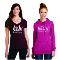 Ladies Cat Apparel Thumbnail