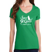 Ladies short sleeve cotton tee Thumbnail